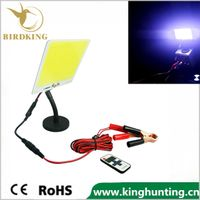110W Outdoor Lantern Portable Flood Light Lamp LED 12V Camping Hiking Torch remote control
