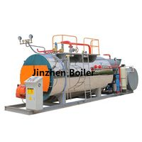 Fuel Gas, Oil, Dual Fuel Fire Tube Steam Boiler with European Burner thumbnail image