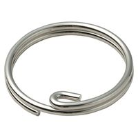 Unique Double Binding Rings Key Holder Easy To Insert 6P DLI-176 Made in Japan thumbnail image