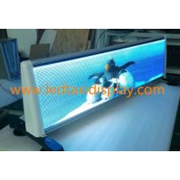 taxi roof led display advertising
