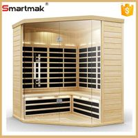 steam sauna room&far infrared sauna