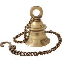 Brass Hanging Temple Bell for your temple Usable bell in temple