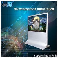 LASVD Multi-functionality 84 Inch 4K Ultra HD LED TV Infrared Vertical Touch Screen Kiosk