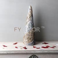 Christmas Cone Tree Desk Top Decorative Mini Trees thumbnail image