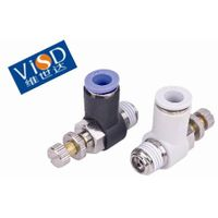 Pneumatic Fittings plastic Compact One-Touch Tube Fittings