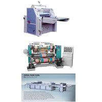 Laminator Uv Coating Separating And Cutting Slitting Machine thumbnail image
