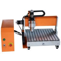 Desktop mini CNC wood router 3040, 3D engraving for sale