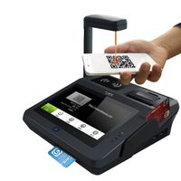 JP762A All in one POS terminal with Magnetic and IC Card reader/NFC/3G/58mm printer