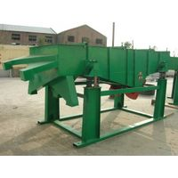 high capacity with carbon steel linear vibrating screen