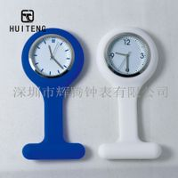 Promotion silicone nurse watch hospital watch with multi-colors/water transfer printing doctor watch