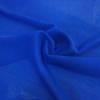 Fashion polyamide spandex mesh jacquard sports fabric with good hand feel