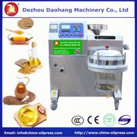 Screw type Sesame Rapeseed Tea seed Oil Press Machine