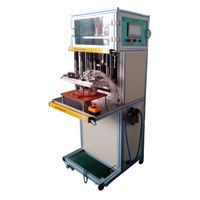 Multiple spindle type automatic locking screw machine