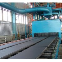 Steel plate surface rust removal machine thumbnail image