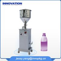 Semi automatic filling machine for bleach thumbnail image