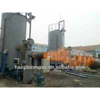 Rice husk gasifier furnace / Rice husk powder gasification to connect with dryer