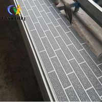 Customized length and metal pu foam sandwich panel