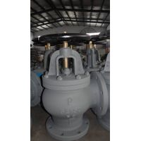 JIS standard marine valve-F7306 5K Cast Iron Angle Valve