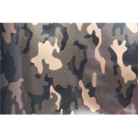 Fashional design camouflage pattern PVC synthetic leather for bags