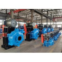 Industrial heavy duty minerals rubber metal sand pumps slurry pumps