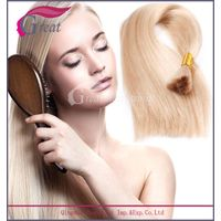 Blonde color 7A grade virgin Russian hair bulk