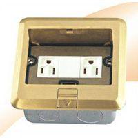 American floor socket