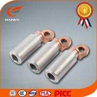 CAL-B aluminium copper al-cu bimetallic cable lugs copper weld