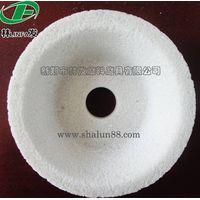 White aluminium oxide bowl polishing wheel thumbnail image