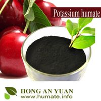 100% water soluble potassium humate powder /flake/ granular