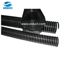 PVC Black Helix Suction Hose 32mm-203mm ID PVC Spiral