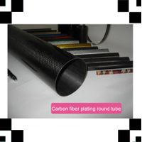3k plain twill pultruded Carbon Fiber tube, pipe, CFP tube for frames, trusses, and reinforcing mate