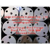 ANSI B16.5 BLRF Flange, CL150 Blind Flange, Carbon Steel Flange, CS Flange