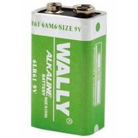 Alkaline battery 6LR61 9V