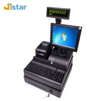 Hot Popular Top Quality One year warranty white/ black optional cashier system Manufacturer China