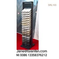 Tow row stone display rack for quartz surface SRL103