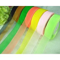 wholesale polyster sheer organza ribbon
