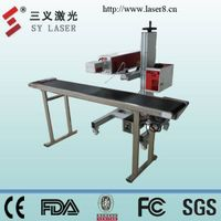 CO2 Laser marking and cutting machine for pvc card