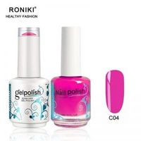 RONIKI Matching Gel & Nail Polish    Matching Gel Polish Set   Matching Gel Polish kit