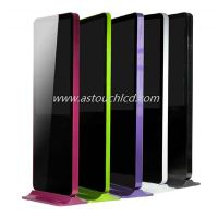 """46"""" OEM colorful ultra thin network wifi 3G touch lcd advertising display / digital totem"""