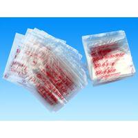 LDPE Resealable plastic various size grip seal ziplock bags