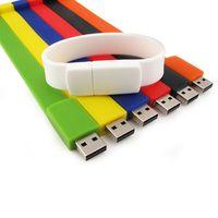 Fashional promotion gift usb bracelet usb flash drive wristband usb drive