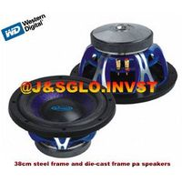 38cm steel frame and die-cast frame pa speakers thumbnail image