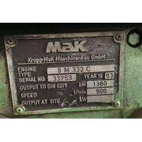 Marine diesel engine set MAK 8M332C thumbnail image