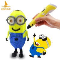 Free DHL Art Tool 3D Printer Pen 3D Printing Pen 3D Drawing Pen Support ABS PLA With LCD Screen thumbnail image