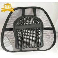 Car seat mesh back support
