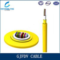 GJFDV indoor multi core ribbon fiber optic cable
