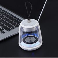 F400 bluetooth speaker with colourful lamp hanging bluetooth speaker
