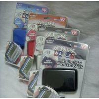 Aluma wallet bank card holder