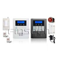 Dual nets gsm pstn 4-quad-bands wireless home security alarm system FS-AMG3299