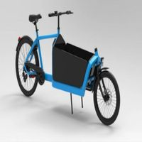 2 wheel electric Bicycle dutch cargo bike for sale